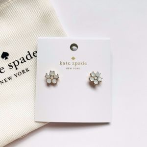 Kate Spade Flower Studs 🌸